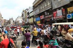 La ville d'Amritsar Photo libre de droits