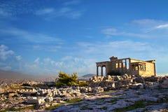 La ville d'Athènes Photo libre de droits