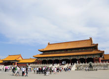 La ville d'empereur Photographie stock libre de droits