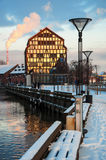 La ville d'hiver Photographie stock