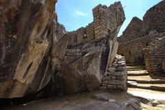 La ville d'Inca de Machu Picchu Photo stock