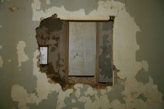 La ville d'ordinateur de secours dans Kolmanskop Photos stock