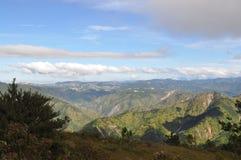 La ville de Baguio, midi élevé de ville de Baguio, Baguio, ville de Baguio a regardé le bâti Ulap, bâti Ulap, mt Ulap, Benguet, P Photos stock