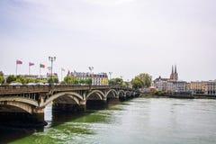 La ville de Bayonne Photographie stock libre de droits