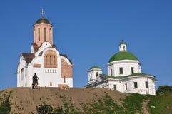 La ville de Belaya Tserkov, Ukraine Image libre de droits