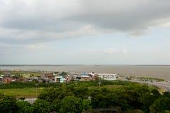 La ville de Belem font Para Photographie stock