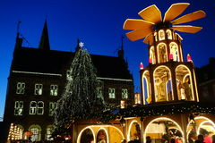 La ville de Bocholt Photo libre de droits