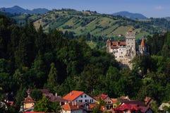 La ville de château de son et de son photo libre de droits