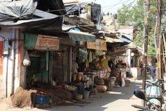 La ville de Delhi Images libres de droits