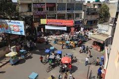 La ville de Delhi Photo libre de droits