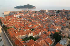 La ville de Dubrovnik, Croatie Photos stock