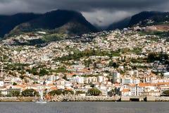 La ville de Funchal Madère Portugal images stock