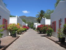 La ville de Graaff-Reinet, Afrique du Sud Photo stock