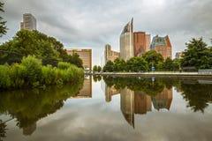 La ville de la Haye Image libre de droits