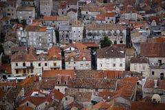 La ville de Hvar, Croatie Photo stock