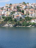 La ville de Kavala Image stock