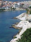 La ville de Kavala Photos libres de droits