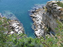 La ville de Kavala Photo libre de droits