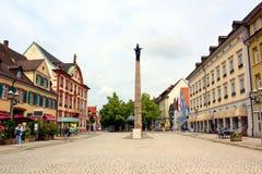 La ville de l'offenburg en Allemagne image stock