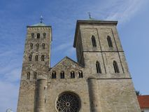 La ville de l'osnabrueck en Allemagne Photo libre de droits