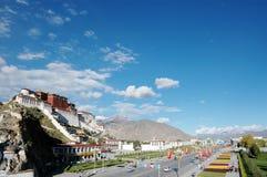 La ville de Lahsa Photographie stock libre de droits