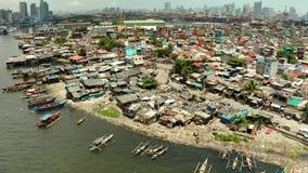 La ville de Manille, la capitale des Philippines clips vidéos