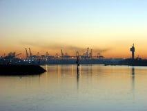Ports de ville photos stock