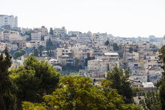La ville de Nazareth l'israel Images stock