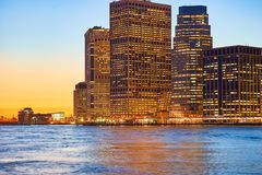La ville de New-York Photographie stock