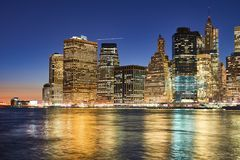 La ville de New-York Images stock