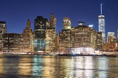 La ville de New-York Photo stock