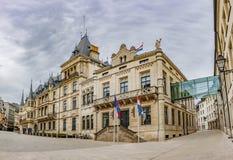 La ville de Palais Luxembourg images libres de droits
