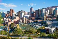 La ville de La Paz en Bolivie, Amérique du Sud photo stock