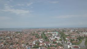 La ville de Pekalongan banque de vidéos