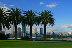 La ville de Perth, Australie occidentale Photographie stock libre de droits
