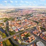 La ville de Pilsen Photos libres de droits