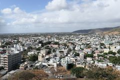 La ville de Port-Louis en île des Îles Maurice photos libres de droits