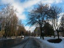 La ville de Pushkin Image libre de droits