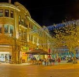 La ville de soirée Images stock