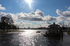 La ville de St Petersburg Photos stock