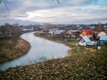 La ville de Suzdal dans la région de Vladimir photographie stock libre de droits