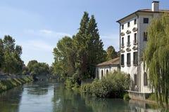 La ville de Trévise, Italie Images stock