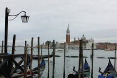 La ville de Venise Images libres de droits