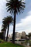 La ville de Vina del Mar, le centre administratif de la municipalité homonyme, une partie de la province de Valparaiso photo libre de droits
