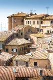 La ville de Volterra Photo libre de droits