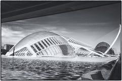 La ville des arts et des sciences à Valence, Espagne Photos libres de droits