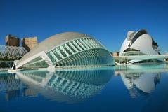 La ville des arts et des sciences, Valence. Photos stock
