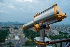 La ville des Frances de Paris Images stock