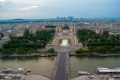 La ville des Frances de Paris Photo libre de droits
