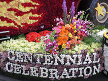 La ville du flotteur 2011 de défilé de cuvette de Rose de Burbank Image stock